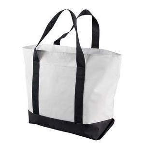 Liberty Bags Bay View Giant Zippered Boat Tote