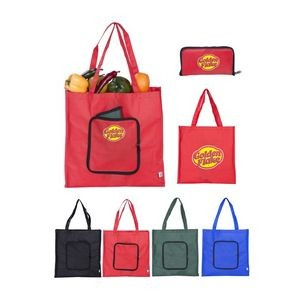 Non-Woven Poly Eco Foldable Tote Bag